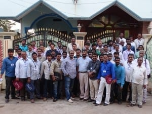 These are the students that are graduating in Vijaywada India, February 14th