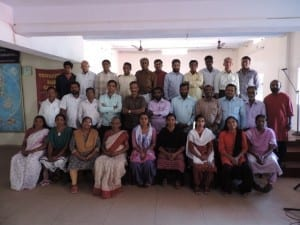 These are the students who will graduate in trivandrum india on February 24.